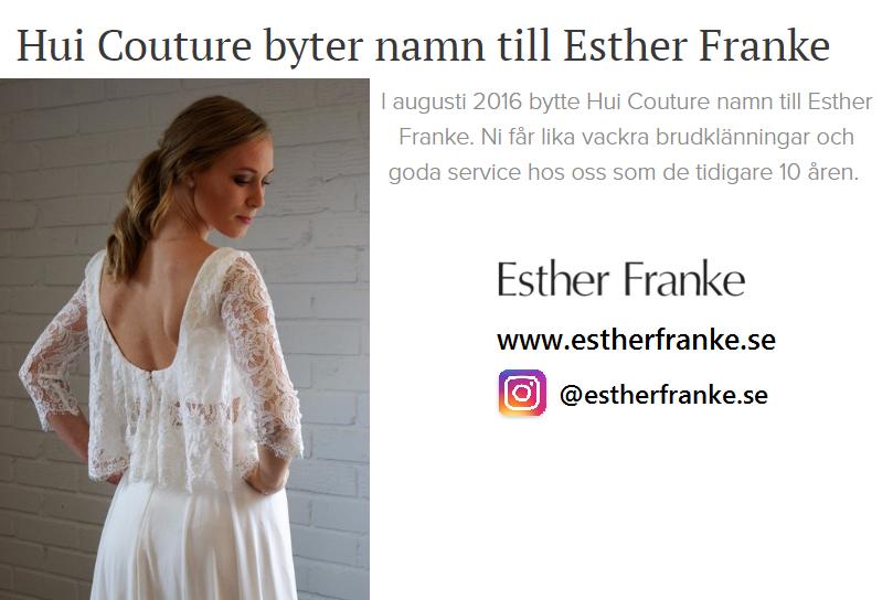 http://www.estherfranke.se